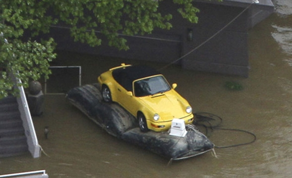 Determined Owner Saves Porsche From Kentucky Flood