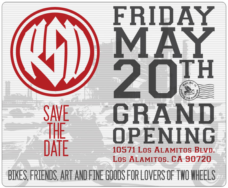 RSD: Roland Sands Design GRAND OPENING
