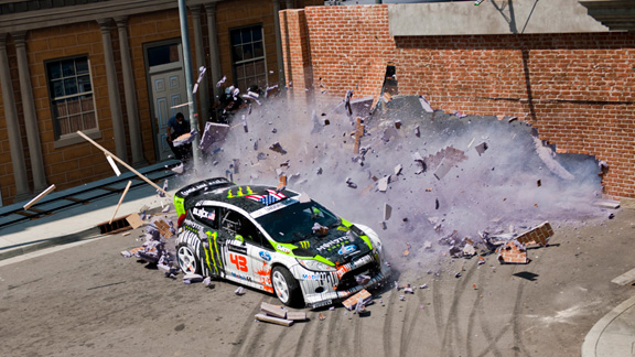 Ken Block does it again… GYMKHANA FOUR