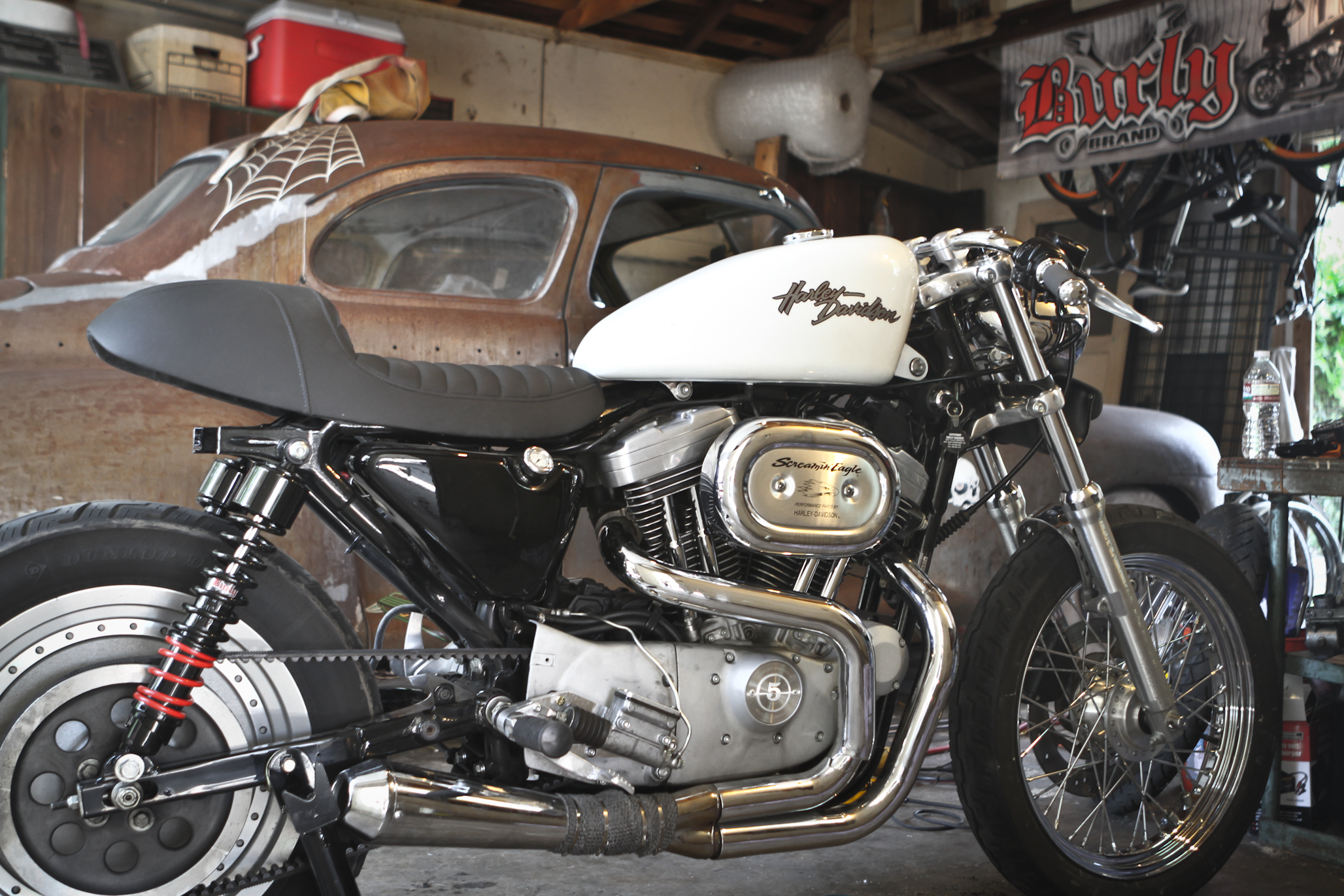 Cafe Sportster: Build Video